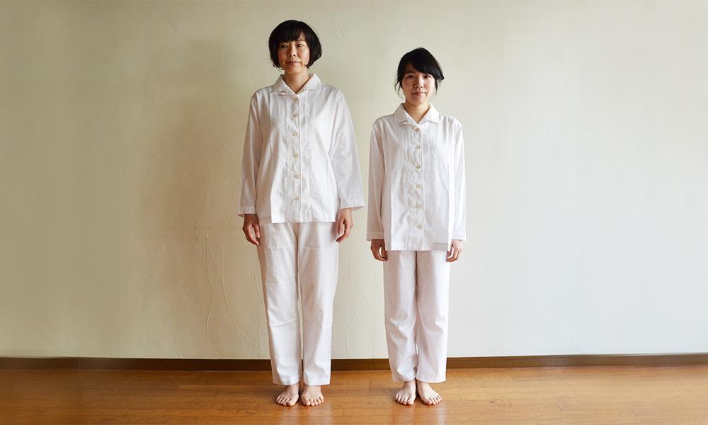 80パジャマMサイズとLサイズ