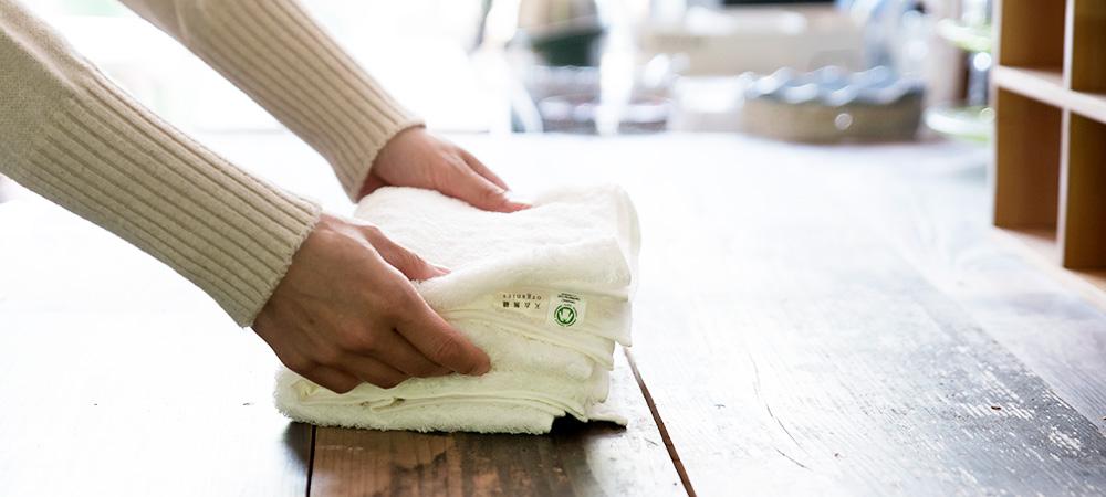 タオルを新しくする時とは