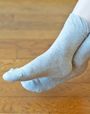 足の裏パイルソックス